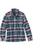 Patagonia W's Fjord LS Flannel Shirt Bay Laurel: Forge Grey